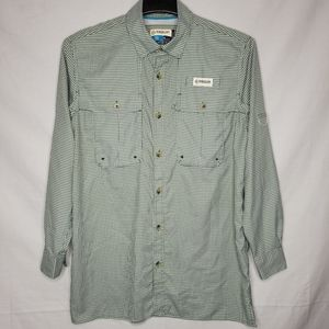 MAGELLAN OUTDOORS ANGLER FIT FISHING BUTTON UP